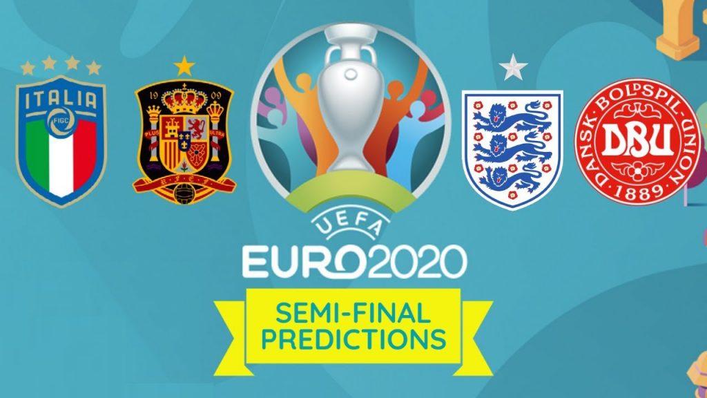 欧洲杯四强赛将登场